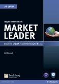 Teacher's Resource Book, w. Test Master CD-ROM / Market Leader Upper Intermediate 3rd edition