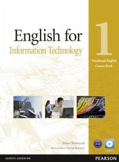 English for IT Level 1 Coursebook and CD-Rom Pack - Olejniczak, Maja