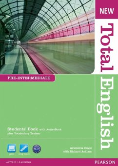 New Total English Pre-Intermediate Students' Book (with Active Book CD-ROM) - Crace, Araminta