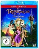 Rapunzel - Neu verföhnt, 1 Blu-ray 3D + Blu-ray 2D