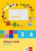 Colour Land. My Words (5er Pack) 3. und 4. Schuljahr