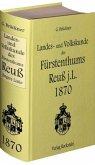 Landes- und Volkskunde des Fürstentums Reuß jüngere Linie 1870