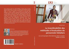 La Transférabilité Des Méthodes d''évaluation Du Personnels Hôteliers - Karam, Michel