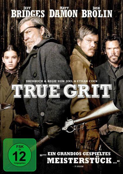 True Grit (2010), 1 DVD - Jeff Bridges,Josh Brolin,Matt Damon