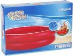 Splash & Fun Baby-Pool uni mit aufblassbaren Boden, # 85 cm