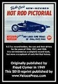 Veda Orr's New Revised Hot Rod Pictorial