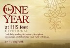 The One Year at His Feet Devotional: 365 Daily Readings to Instruct, Strengthen, Encourage, and Challenge Your Walk with Jesus