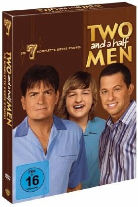 Two and a Half Men: Mein cooler Onkel Charlie - Die komplette siebte Staffel (4 Discs)