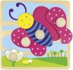 Jumbo d53065 - Schmetterling (Holzpuzzle)