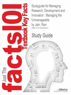 9781428825451 - Cram101 Textbook Reviews: Studyguide for Managing Research, Development and Innovation: Managing the Unmanageable by Ravi Jain, ISBN 9780470404126 (Cram101 Textbook Outlines) - 도 서