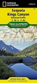 National Geographic Trails Illustrated Topographic Map Sequoia, Kings Canyon National Parks