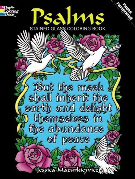 Psalms Stained Glass Coloring Book von Jessica Mazurkiewicz ...