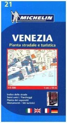 Michelin Karte Venezia