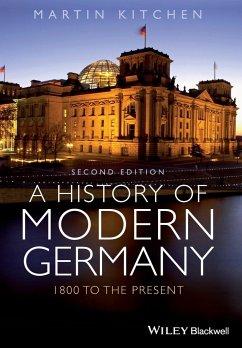 A History of Modern Germany - Kitchen, Martin
