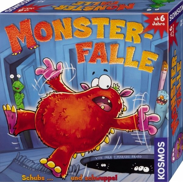 Monster-Falle (Kinderspiel)