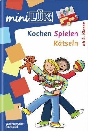miniLÜK. Kochen, Spielen, Rätsel raten - Schuberg, Angelika