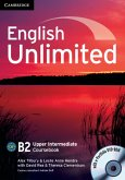 English Unlimited B2 - Upper-Intermediate. Coursebook with e-Portfolio DVD-ROM + 3 Audio-CDs