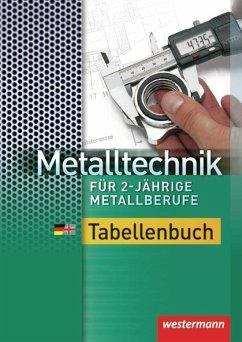 Metalltechnik für 2-jährige Metallberufe - Falk, Dietmar; Krause, Peter; Tiedt, Günther
