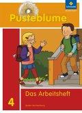 4. Schuljahr, Das Arbeitsheft / Pusteblume, Das Sprachbuch, Ausgabe 2010 Baden-Württemberg
