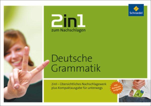 2 in 1 zum Nachschlagen Deutsche Grammatik - Stakenborg, Thomas; Ader, Dorothea; Bünting, Karl-Dieter