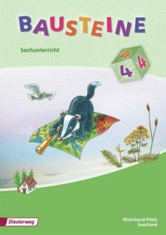 Bausteine 4. Sachunterricht. Schülerband. Rhein...