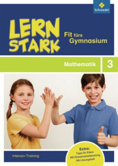 LERNSTARK - Fit fürs Gymnasium. Mathematik 3: Intensiv-Training - Sattler-Holzky, Bettina