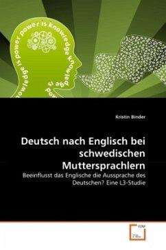 Deutsch nach Englisch bei schwedischen Muttersprachlern