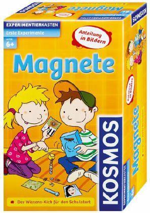Kosmos 602185 - Erste Experimente: Magnete