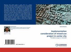 Implementation consideration of mixed-use project in center city