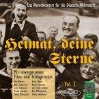 Mit unvergessenen Film- und Schlagerstars, 1 Audio-CD / Heimat, deine Sterne, Audio-CDs 2