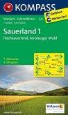 KOMPASS Wanderkarte Sauerland 1 - Hochsauerland - Arnsberger Wald
