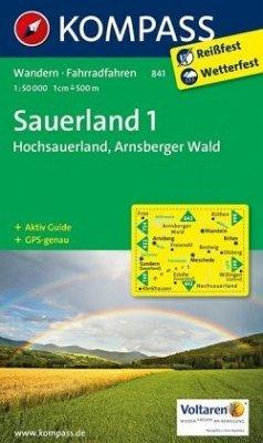 Kompass Karte Sauerland