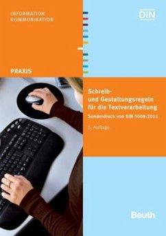 Schreib- und Gestaltungsregeln für die Textverarbeitung