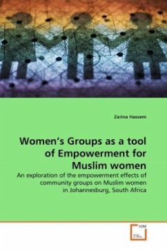Women's Groups as a tool of Empowerment for Muslim women