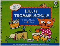 Lillis Trommelschule, m. Audio-CD