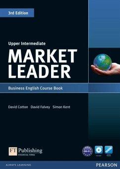 Market Leader Upper Intermediate Coursebook (with DVD-ROM incl. Class Audio) - Cotton, David; Falvey, David; Kent, Simon