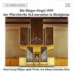 Die Rieger-Orgel 1959 Der Pfarrkirche St.Laurenti