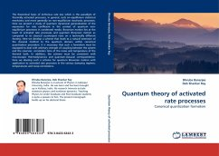 Quantum theory of activated rate processes