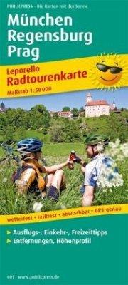 PublicPress Leporello Radtourenkarte München - ...