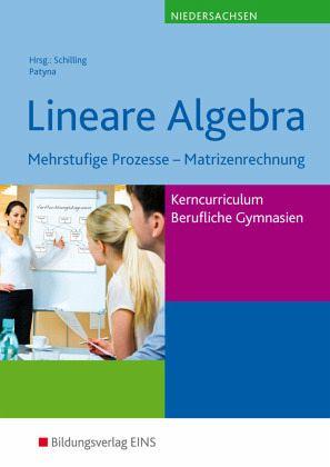 lineare algebra lehr fachbuch mehrstufige prozesse. Black Bedroom Furniture Sets. Home Design Ideas
