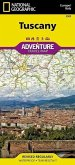 National Geographic Adventure Travel Map Tuscany, Italy