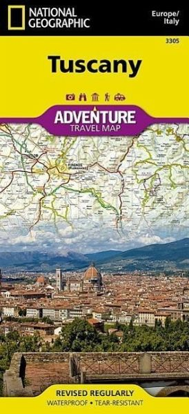 National Geographic Adventure Travel Map Tuscany, Italy von National ...