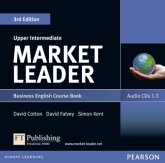 Course Book, 3 Audio-CDs / Market Leader Upper Intermediate 3rd edition