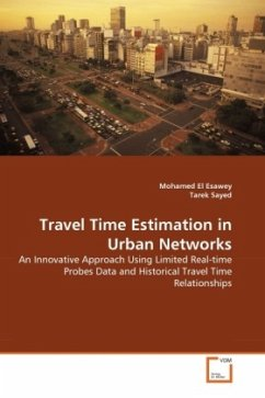 Travel Time Estimation in Urban Networks