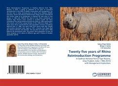 Twenty five years of Rhino Reintroduction Programme