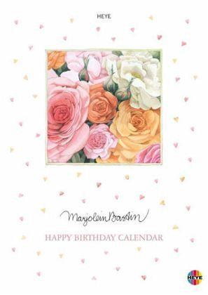 Bastin Geburtstagskalender A4 - Bastin, Marjolein