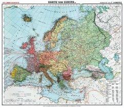 Historische Karte: Europa, um 1910 (Plano)