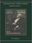 Georg Freiherr von Hertling - Recht, Staat und Gesellschaft