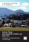 Guntram Plangg: Namenkundliche Schriften zum Raum Tirol