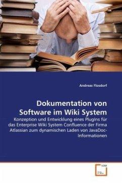 Dokumentation von Software im Wiki System